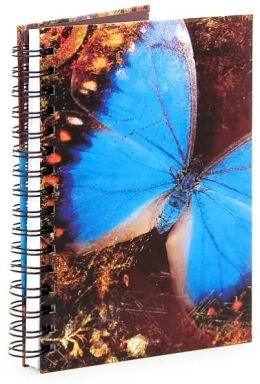 Blue Butterfly Journal - Large