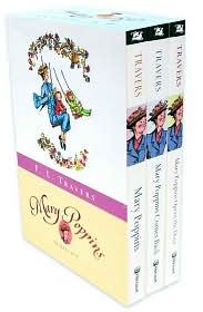 Mary Poppins Box Set: Three Enchanting Classics: Mary Poppins, Mary Poppins Comes Back, and Mary Poppins Opens the Door
