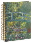 Product Image. Title: Monet Bridge Lined Spiral Journal 6x8
