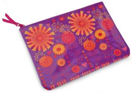 Jonathan Adler Bohemian Bliss Enchanted Garden Embroidered Accessory Pouch (7x10)