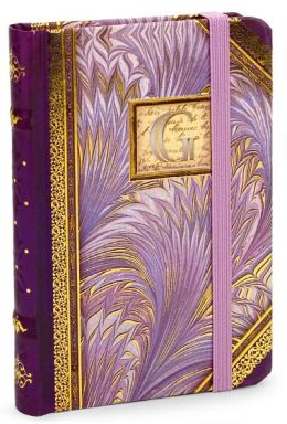 Marble Monogram G Bound Lined Mini Journal 3.5 X 5.25