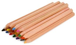 Colored Pencils, Set of 16-Acetate Box