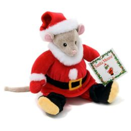 Santa Mouse Plush