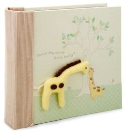 Green Giraffe Baby Photo Album 100 4