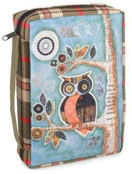Wisdom Owl Bible Cover XL