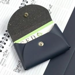 Small Business Card Holder Navy