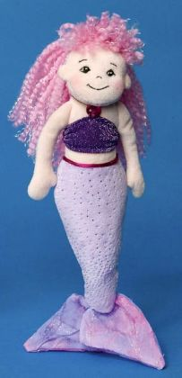 Pink & Purple 11 Inch Mermaid