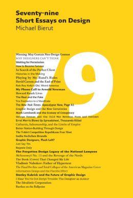 Seventy-nine Short Essays on Design