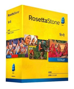 Rosetta Stone Hindi v4 TOTALe - Level 1, 2 & 3 Set - Learn Hindi