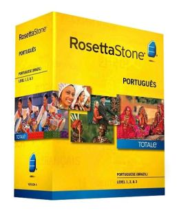Rosetta Stone Portuguese (Brazil) v4 TOTALe - Level 1, 2 & 3 Set - Learn Portuguese