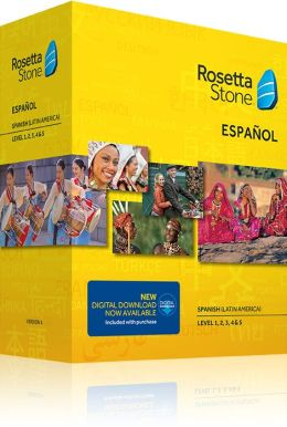Rosetta Stone Spanish (Latin America) v4 TOTALe - Level 1, 2, 3, 4 & 5 Set - Learn Spanish