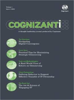 Cognizanti Journal - Issue 1: Business and technology thought leadership from Cognizant