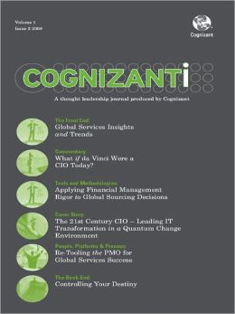 Cognizanti Journal - Issue 2: Business and technology thought leadership from Cognizant