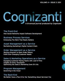 Cognizanti Journal - December 2011 Issue: December 2011 issue of the bi-annual journal produced by Cognizant