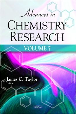 Advances in Chemistry Research. Volume 7
