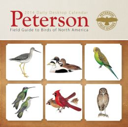 2014 Peterson Field Guide to Birds of North America Box Calendar