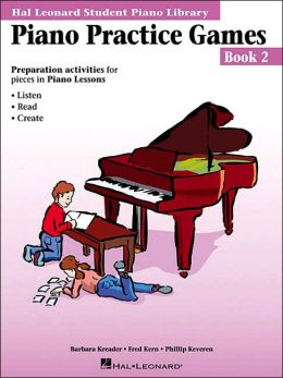 PIANO PRACTICE GAMES BOOK 2 Hal Leonard Student Piano Library