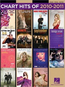 Chart Hits of 2010-2011 - Piano/Vocal/Guitar
