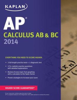 Kaplan AP Calculus AB & BC 2014