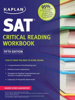 Kaplan SAT Critical Reading Workbook