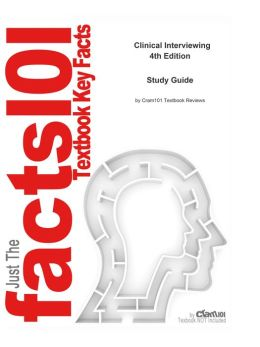 e-Study Guide for: Clinical Interviewing by John Sommers-Flanagan, ISBN 9780470183595