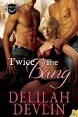 Book Cover Image. Title: Twice the Bang, Author: Delilah Devlin