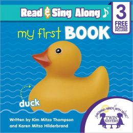 My First Book Read & Sing Along [Includes 3 Songs]