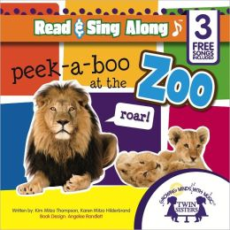 Peek-a-Boo At The Zoo Sound Book [Includes 3 Songs]