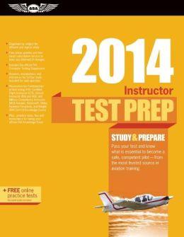 Instructor Test Prep 2014 Book and Tutorial Software Bundle