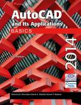 Book Cover Image. Title: AutoCAD and Its Applications Basics 2014, Author: Terence M. Shumaker