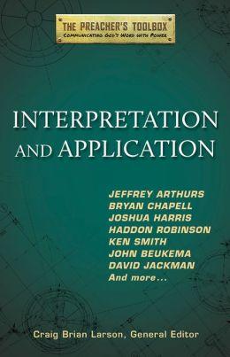 Interpretation and Application