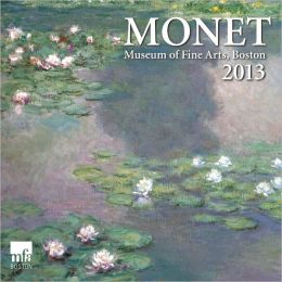 2013 MFA Monet Mini Wall Calendars