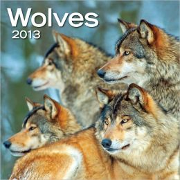 2013 Wolves Mini Wall Calendars