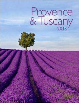2013 Provence & Tuscany Engagement Calendar