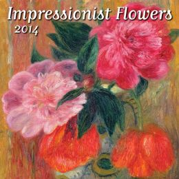 2014 Impressionists Flowers Mini Wall Calendar