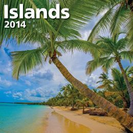 2014 Islands Mini Wall Calendar
