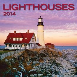 2014 Lighthouses Mini Wall Calendar
