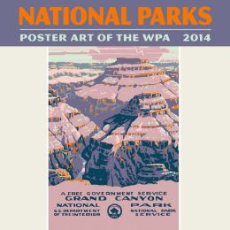 2014 National Parks WPA Mini Wall Calendar
