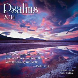 2014 Psalms Mini Wall Calendar