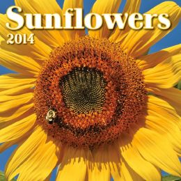 2014 Sunflowers Mini Wall Calendar