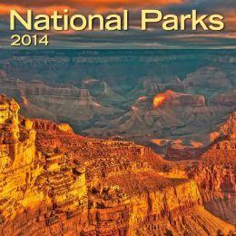2014 National Parks Mini Wall Calendar
