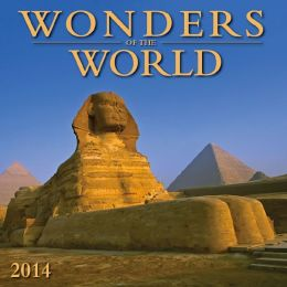 2014 Wonders of the World Mini Wall Calendar