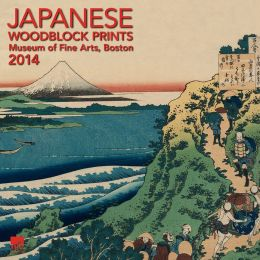 2014 Japanese Woodblocks MFA, Boston Wall Calendar