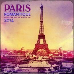 2014 Paris Romantique Wall Calendar