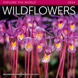 2014 Wildflowers Wall Calendar
