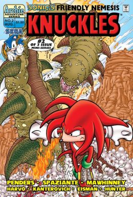 Sonic's Friendly Nemesis Knuckles #2