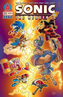 Sonic the Hedgehog #211