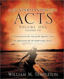 Understanding Acts Volume One