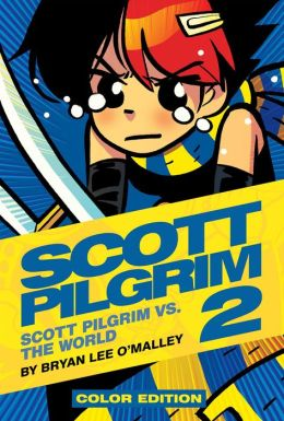 Scott Pilgrim Color Hardcover, Volume 2: Vs. The World