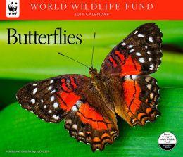 2014 Butterflies WWF Wall Calendar
